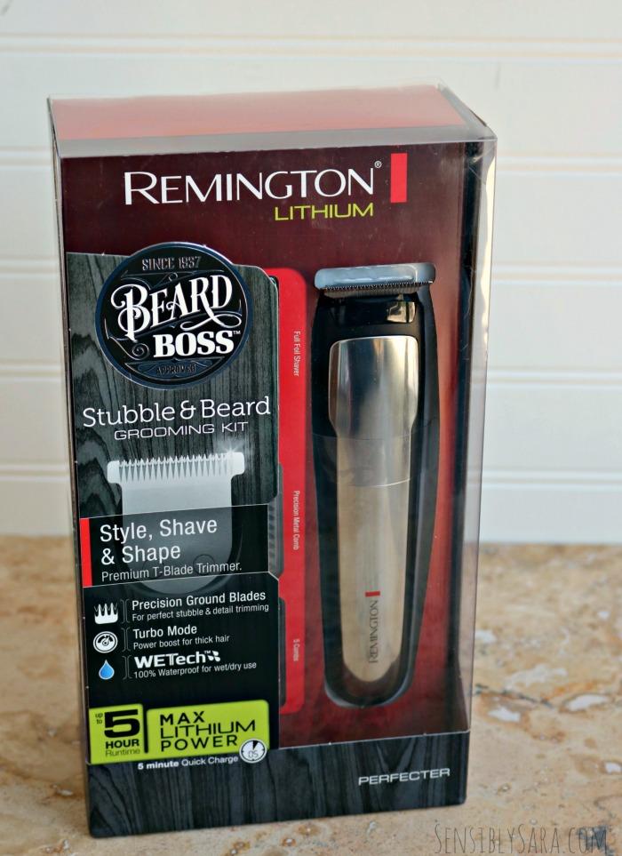 Remington Beard Boss Grooming Kit | SensiblySara.com