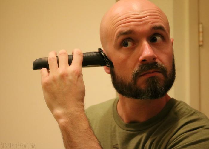 Using the Remington Beard Boss | SensiblySara.com