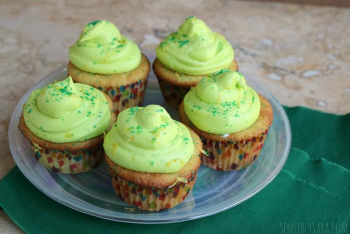 Lemon Lime Cupcakes | SensiblySara.com