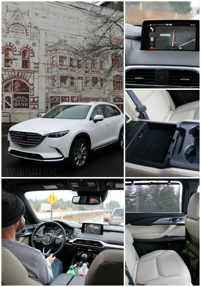 Mazda CX-9 Interior   SensiblySara.com