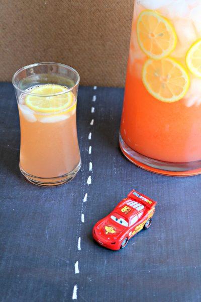 Lightning McQueen Lemonade | SensiblySara.com