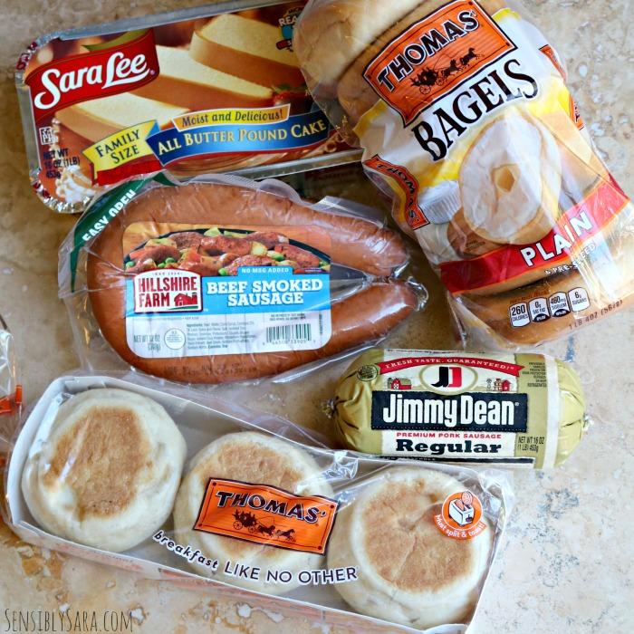 Tyson Breakfast Foods   SensiblySara.com