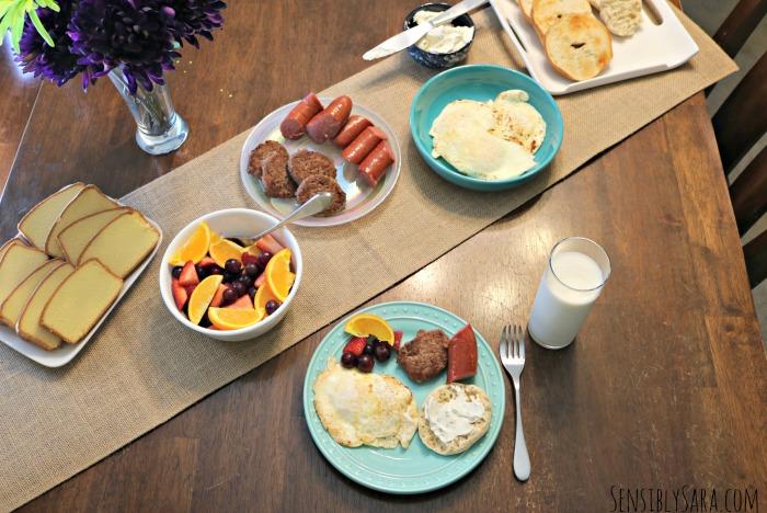 Brunch Menu for Mother's Day   SensiblySara.com