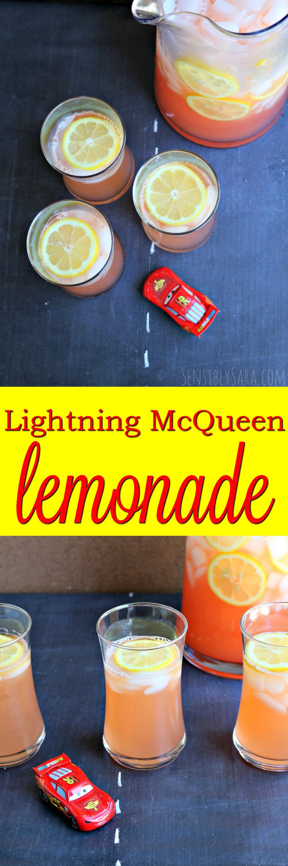 Lightning McQueen Lemonade
