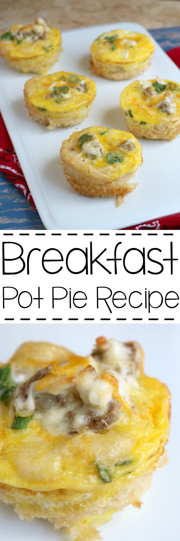 Breakfast Pot Pie Recipe   SensiblySara.com