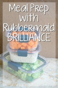 Meal Prep with Rubbermaid BRILLIANCE [AD] #StoredBrilliantly