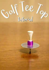 DIY Golf Tee Top Tutorial – A Summer Craft to Cure Boredom