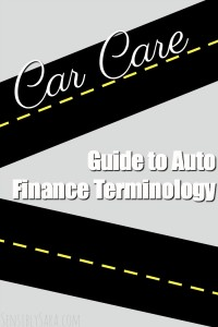 Guide to Auto Finance Terminology