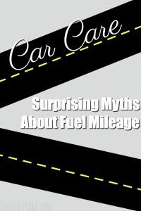 Surprising Myths About Fuel Mileage