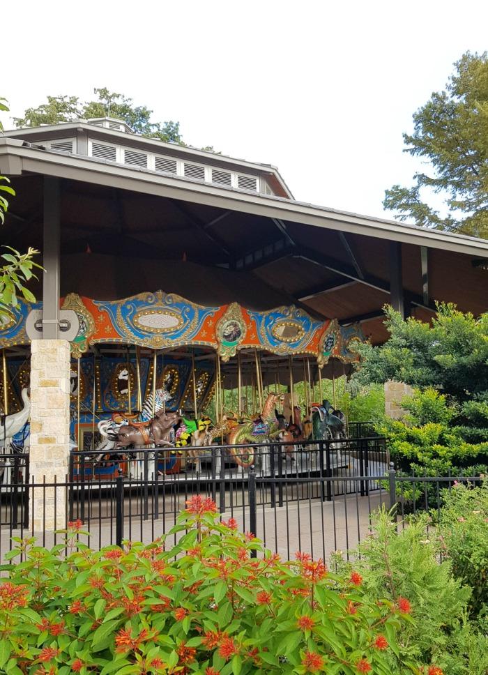 Carousel at the San Antonio Zoo   SensiblySara.com