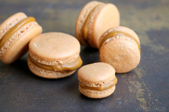 Butterbeer Macarons | SensiblySara.com