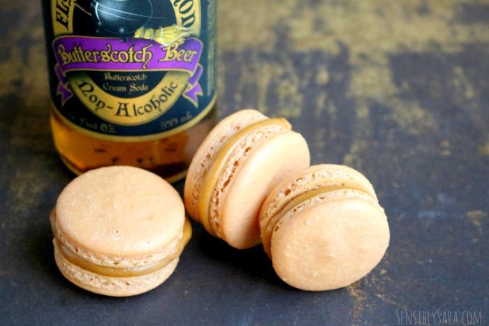 Butterbeer Macaroons | SensiblySara.com