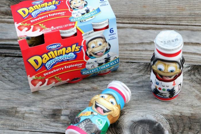 Danimals Strawberry Explosion   SensiblySara.com