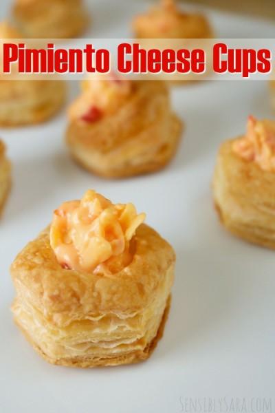 Pimiento Cheese Cups   SensiblySara.com