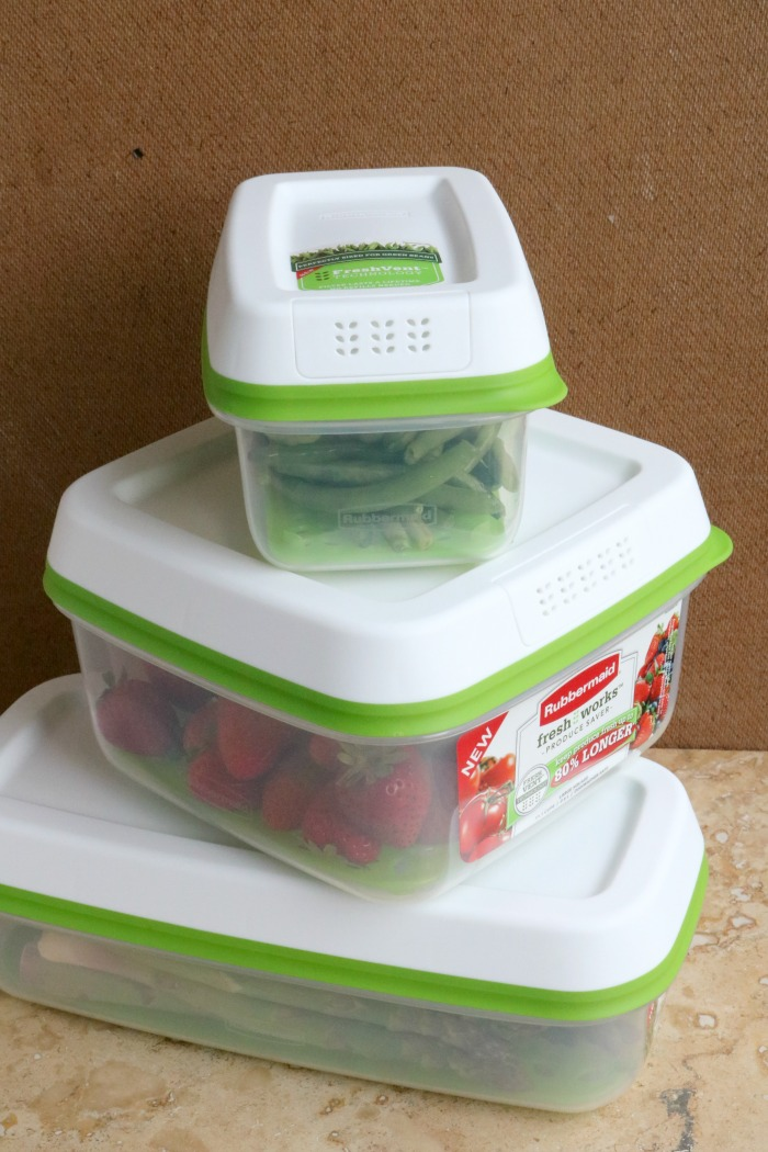 The Benefits of Using Rubbermaid FreshWorks Food Storage Containers