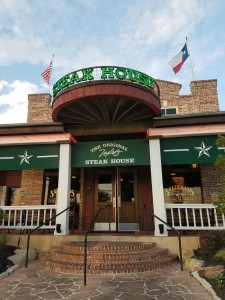 Try the Frozen Crown and Coke at Saltgrass Steakhouse