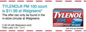 Save on TYLENOL® PM at Walgreens
