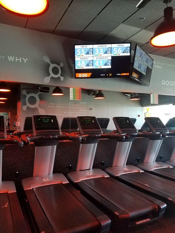 Orangetheory Fitness Treadmills | SensiblySara.com