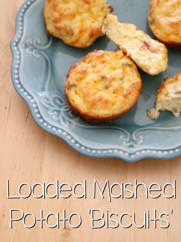 Loaded Mashed Potato Biscuits | SensiblySara.com