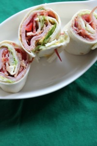 Try this Club Sandwich Pinwheel Recipe for Game Day!