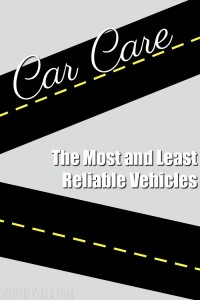 The Most and Least Reliable Vehicles