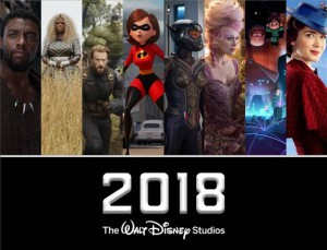 Just Released! Complete list of 2018 Disney Movies