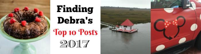 Finding Debra's Top 10 Posts