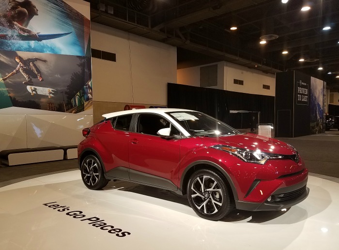 Dallas Fort Worth Auto Show And Three New Toyota Vehicles - Dallas car show