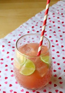 Non-Alcoholic Barbie Pink Drink Cocktail Recipe