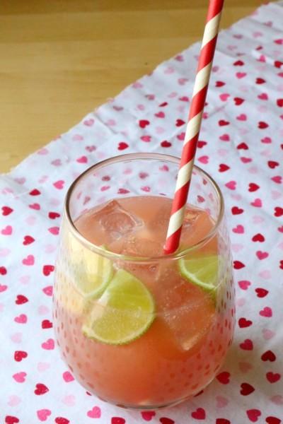 Non-Alcoholic Barbie Pink Drink Cocktail Recipe | SensiblySara.com