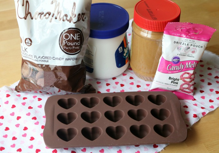 Chocolate Covered Peanut Butter Hearts Supplies | SensiblySara.com