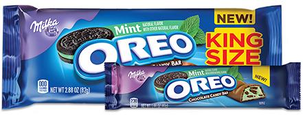 Oreo Mint Chocolate Candy Bar