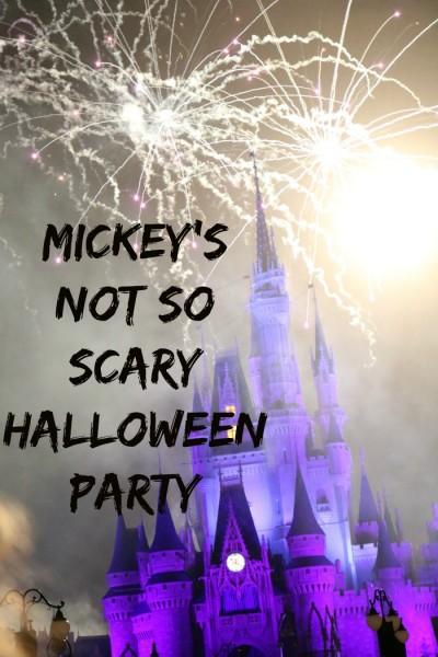 A Guide to Mickey's Not So Scary Halloween Party | SensiblySara.com