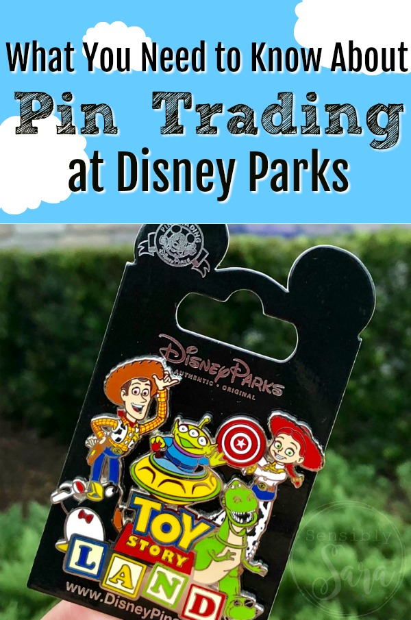 What You Need to Know About Pin Trading at Disney Parks | SensiblySara.com