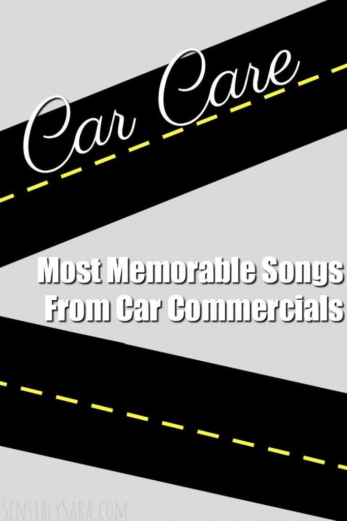 Most Memorable Songs From Car Commercials | SensiblySara.com