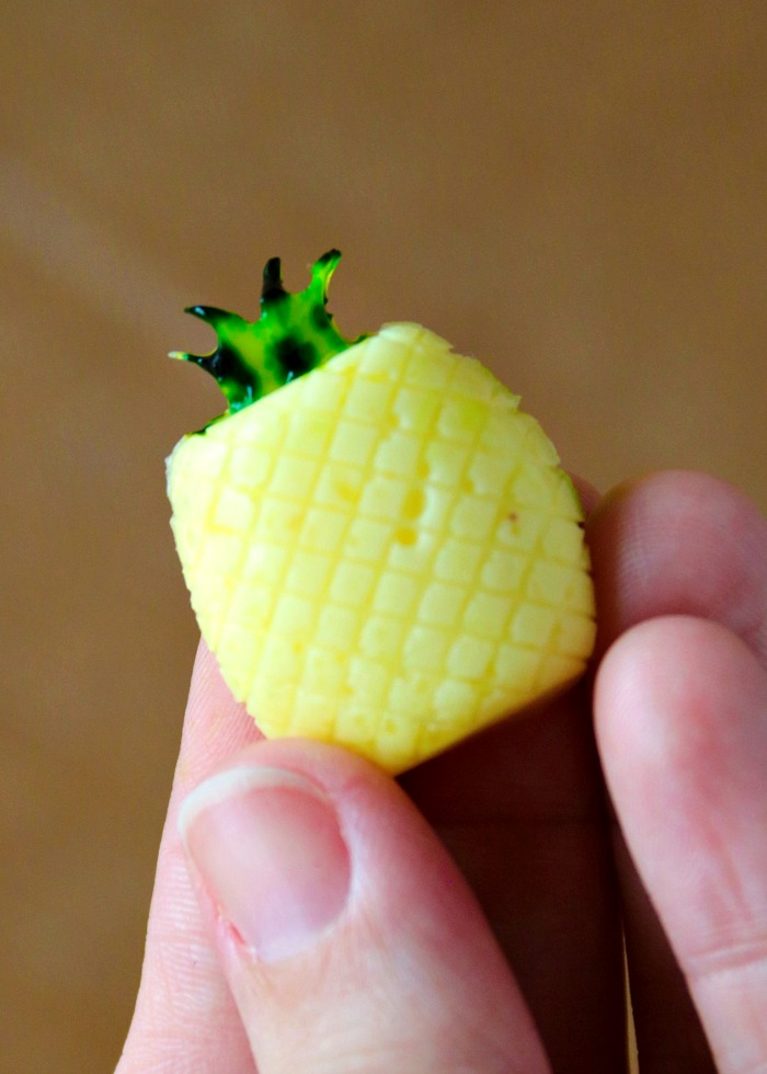 Creamy Pineapple Gummies (Dole Whip Copycat)   SensiblySara.com