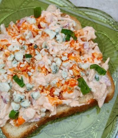 Buffalo Chicken Salad Recipe   SensiblySara.com