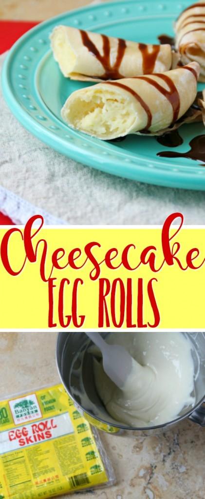 Cheesecake Egg Rolls Recipe | SensiblySara.com