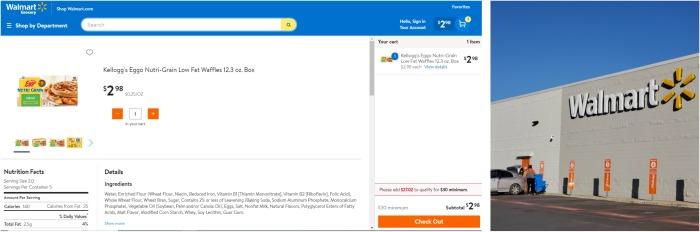 Walmart Order Pick Up | SensiblySara.com