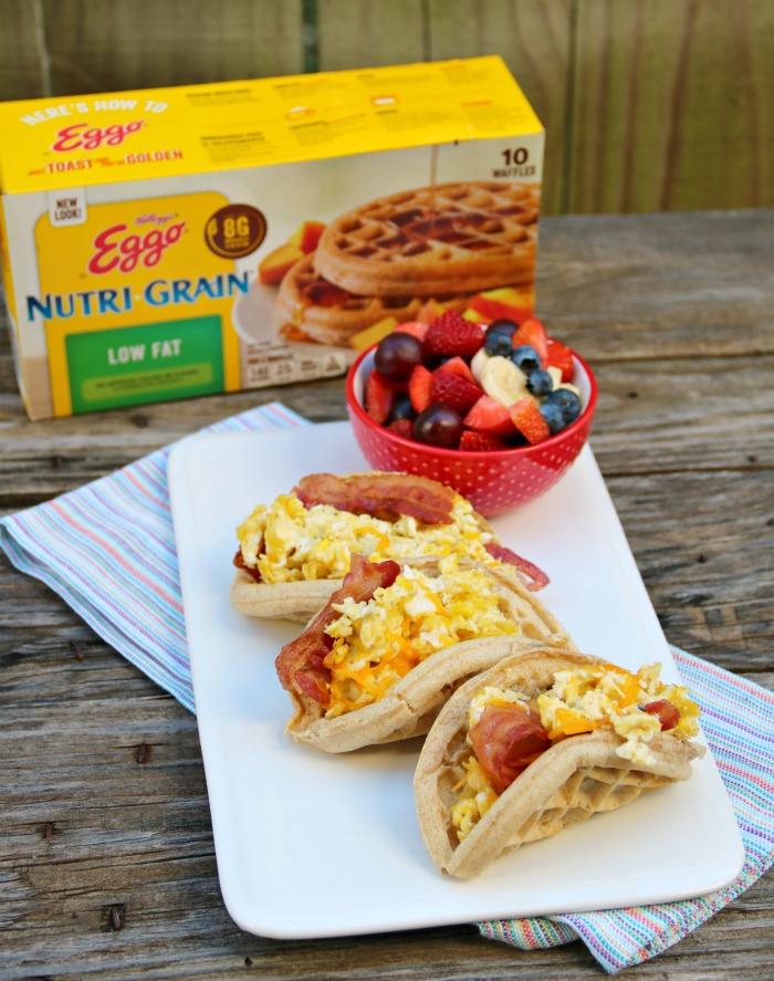 Eggo Waffle Tacos | SensiblySara.com