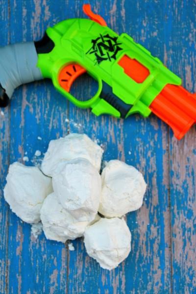 Exploding BB Gun Targets | SensiblySara.com