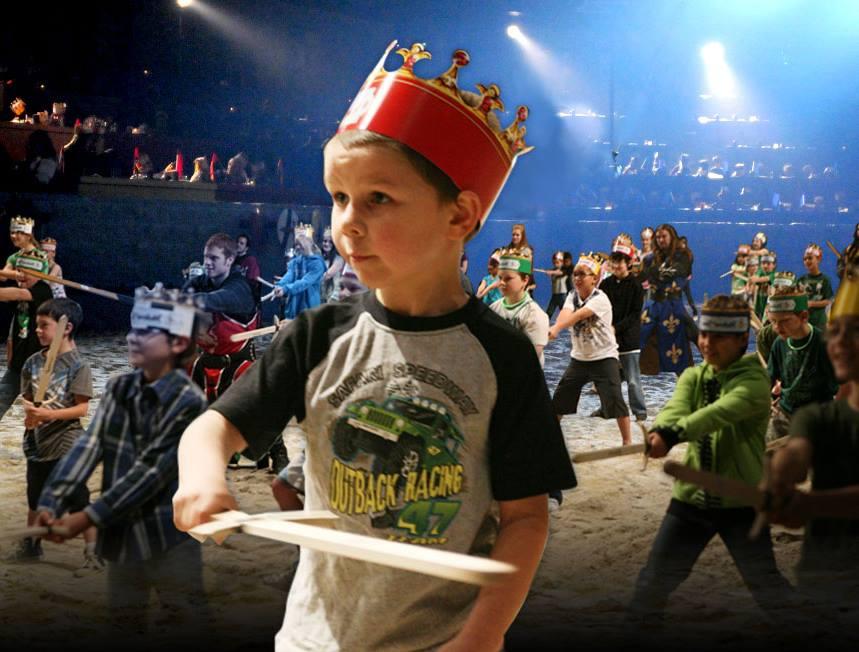 Medieval Times Junior Knights Training