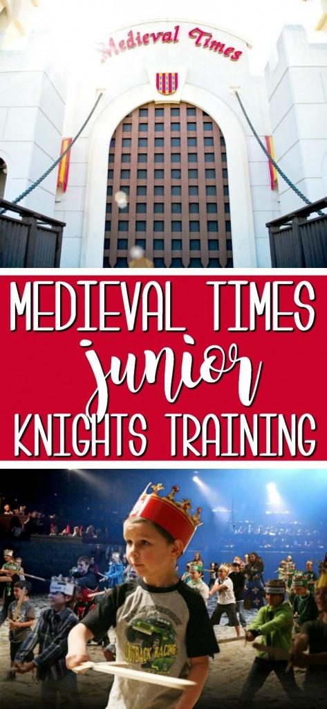 Medieval Times Junior Knights Training | SensiblySara.com