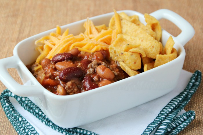 Mild Chili with Beans Recipe | SensiblySara.com