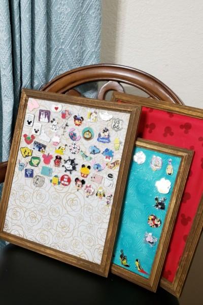 Simple Disney Pin Display | SensiblySara.com