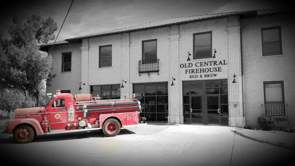 Old Central Firehouse Bed and Brew in San Angelo, TX | SensiblySara.com