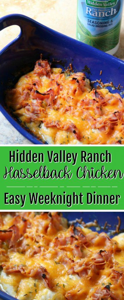 Hidden Valley Ranch Hasselback Chicken | SensiblySara.com