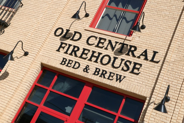 Old Central Firehouse Bed and Brew | SensiblySara.com