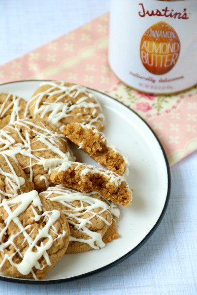 Justin's Cinnamon Almond Butter Cookies | SensiblySara.com