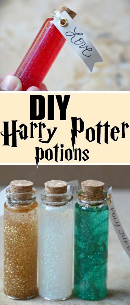 DIY Harry Potter Potions | SensiblySara.com